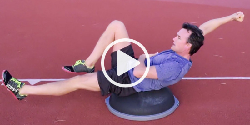 BOSU Elite Core Training