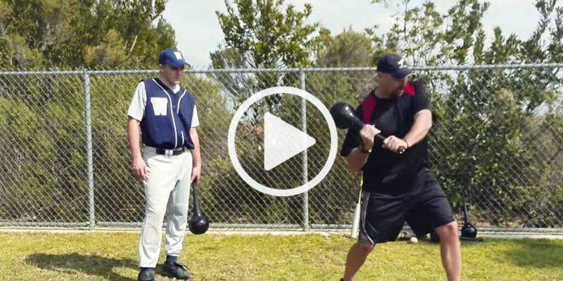 Baseball Training Aid Exercise