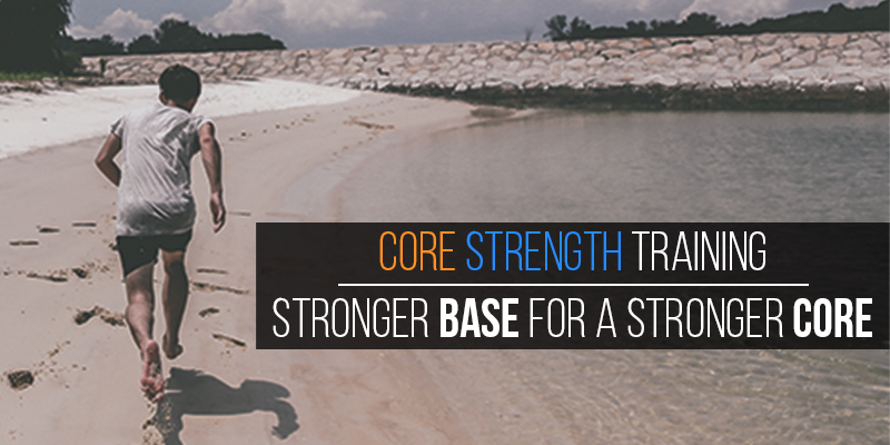 Large core strength training