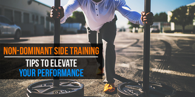 Normal non dominant side training