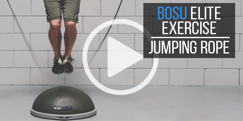 BOSU Elite Exercise: Jumping Rope