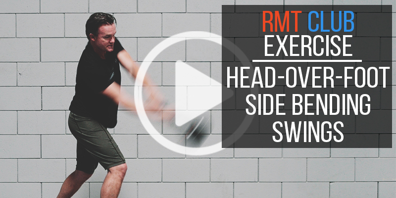 Head Over Foot Technique: RMT Club Side Bending Swings