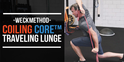 Normal coilingcoretravelinglunge