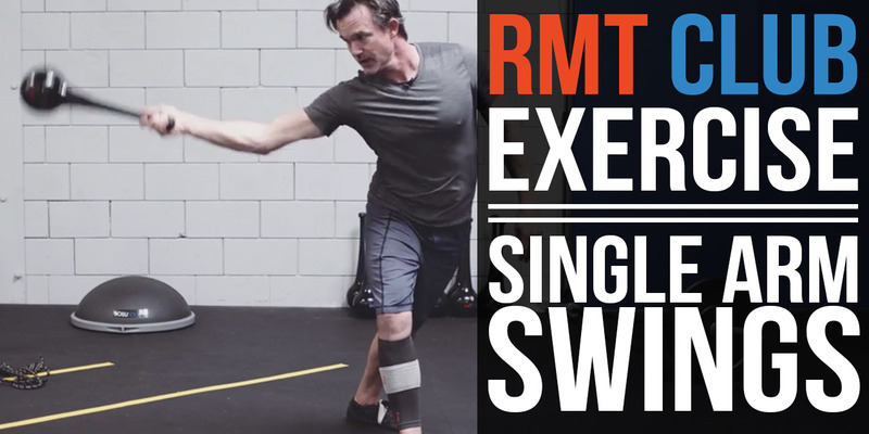 Improve Upper Body Power & Performance | RMT Club Coiling Core Swing