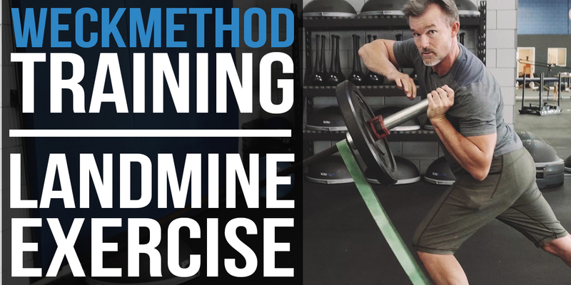 Landmine Exercise | WeckMethod Coiling Core Training