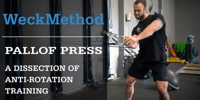 Normal pallof press