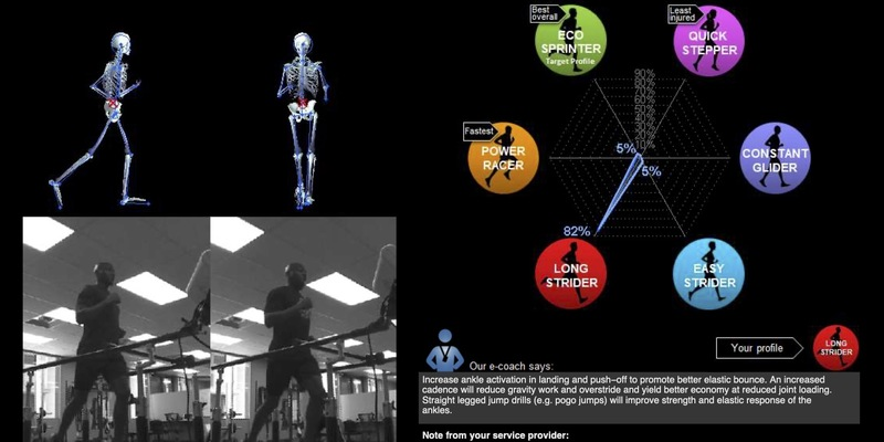Large research data gait analaysis comparison and factor averages