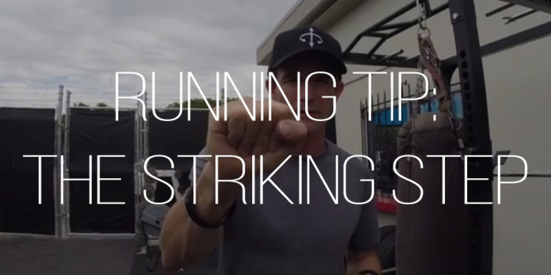 Large running technique   striking step