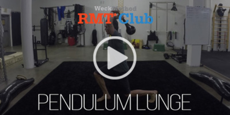 Pendulum Lunge | WeckMethod