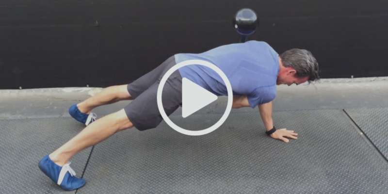 Plank Swing Through | WeckMethod
