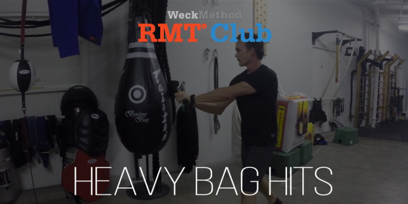 RMT Club Heavy Bag Hits | WeckMethod