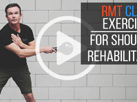 Thumb shoulderrehab