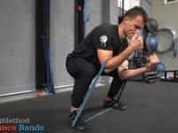Thumb zercher squat