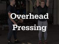 Thumb overheadpressing
