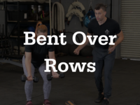 Thumb bentoverrows