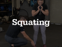 Thumb squating