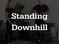 Thumb standingdownhill