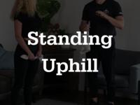 Thumb standinguphill