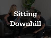 Thumb sittingdownhill