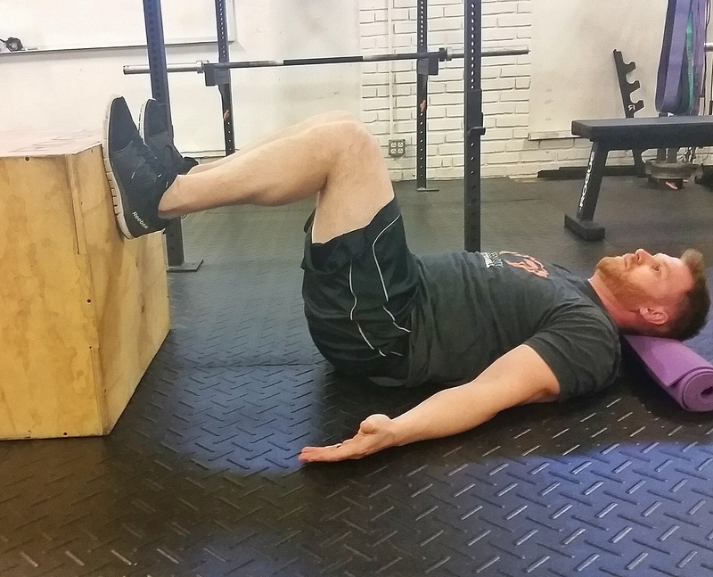 Core Strength Training  Drill - 90/90 Breathing