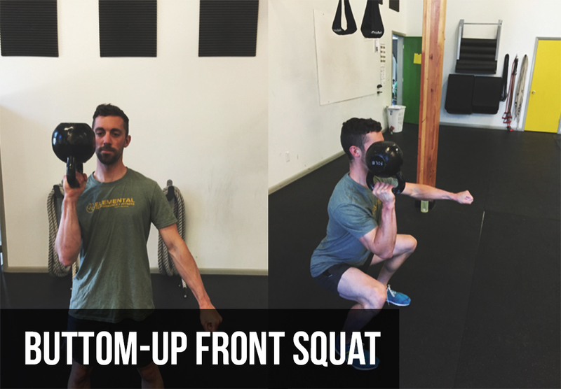 Kettlebell Training  | Front Squat