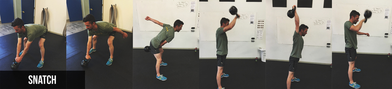 Kettlebell Exercise | Snatch