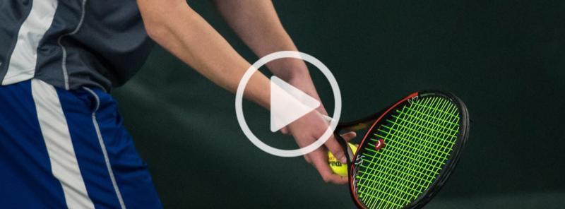 Large videos webpage tennis 4x